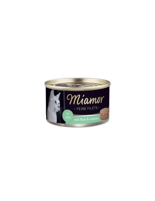 Miamor Cat Filet konzerva tuňák+zelenina v želé 100g