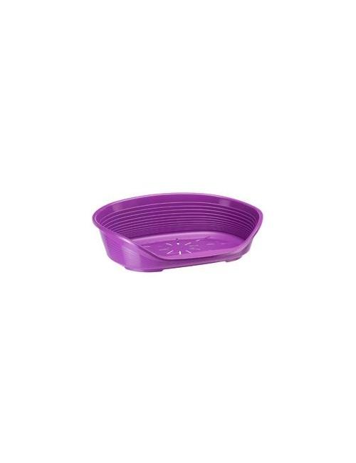 Pelech plast SIESTA DLX 8 fialový 82x59,5x25cm FP 1ks