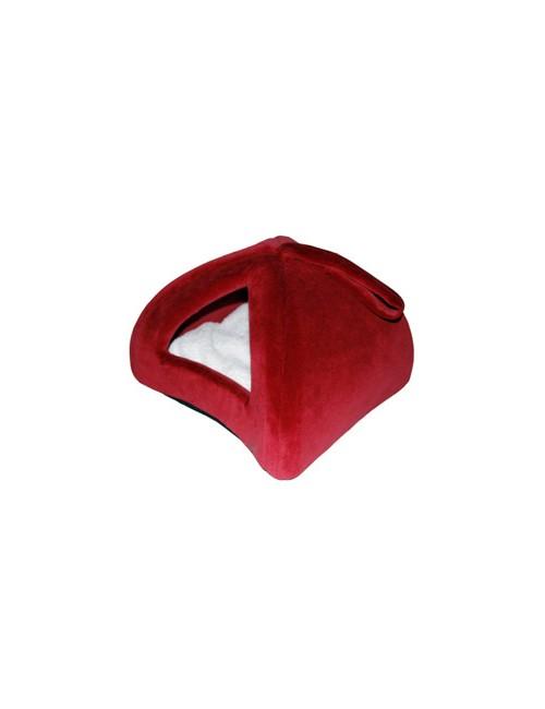 Pelech domek Iglů 35x35cm A22 Červená 1ks