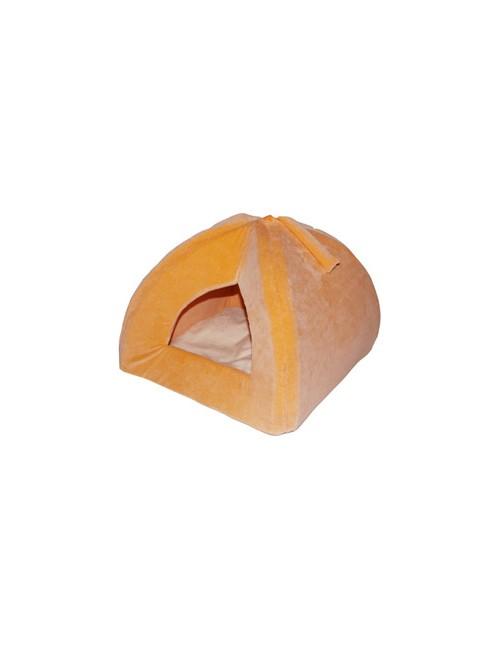 Pelech domek Iglů 35x35cm A30 Oranžová 1ks