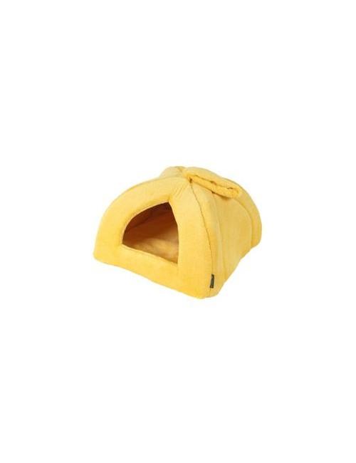 Pelech domek Iglů 35x35cm A12 Žlutá 1ks