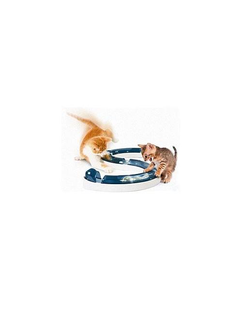 Hračka kočka Koulodráha horská s míčkem CATIT plast
