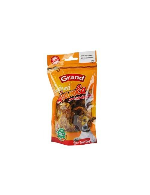 GRAND Suš. Mňamka kuř.maso 100g