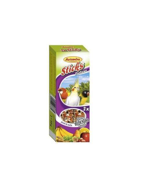 Avicentra tyčinky malý papoušek - ovoce + ořech 2ks
