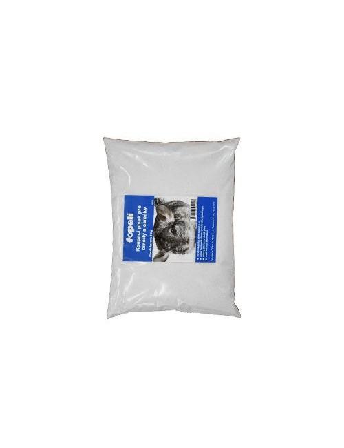 Písek pro činčily bílý 1kg  Fopeli