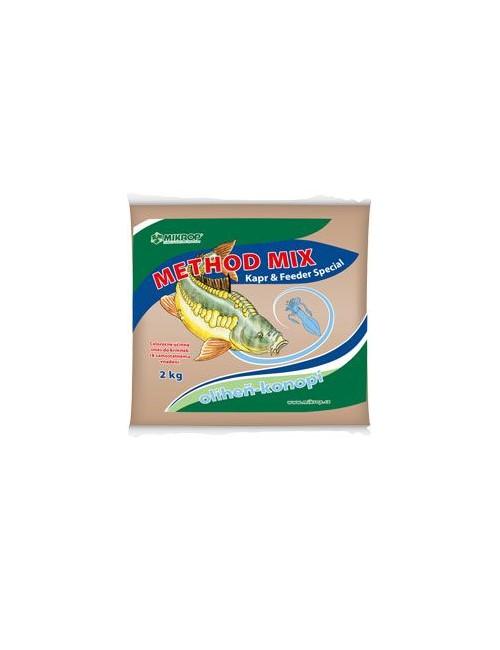 Method mix pro ryby oliheň - konopí 2kg