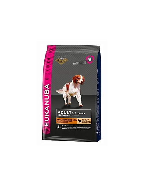 Eukanuba Dog Adult Lamb&Rice Small&Medium 12kg
