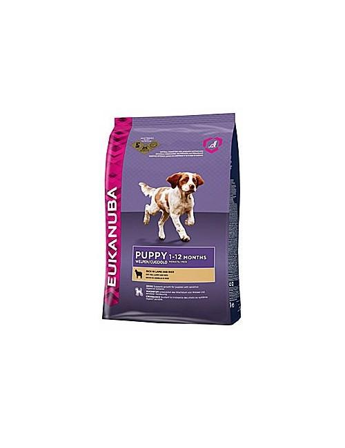 Eukanuba Dog Puppy&Junior Lamb&Rice 2,5kg