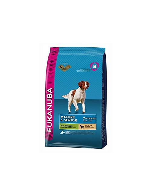 Eukanuba Dog Mature&Senior 7+ Lamb&Rice 2,5kg