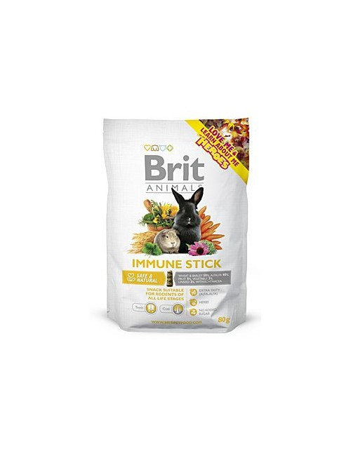 Brit Animals  Immune Stick for Rodents 80g