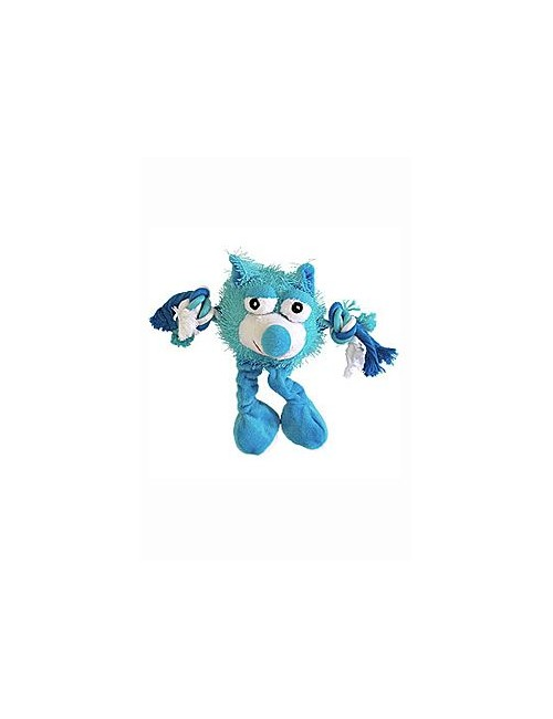 Hračka pes Monster Friend modrý plyš 21cm