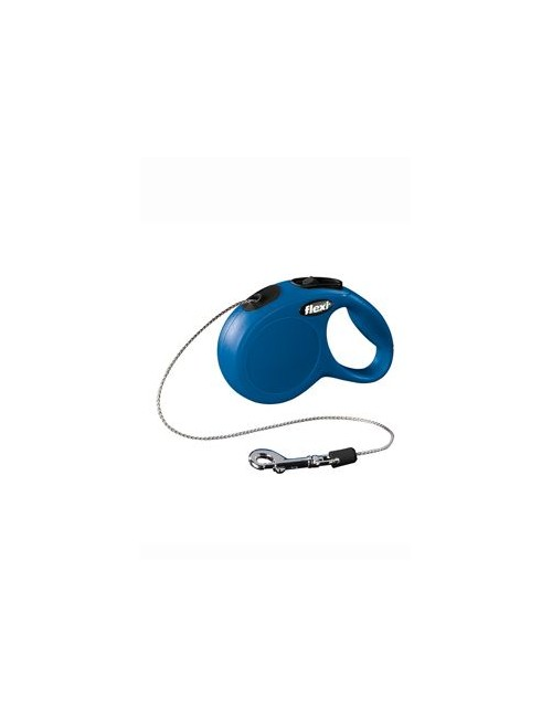 Vodítko FLEXI Classic NEW lanko 3m/8kg modrá