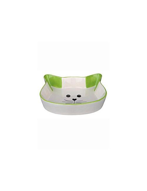 Miska keramická kočka-hlava 0,25ml 12cm TR