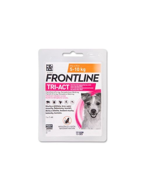 Frontline Tri-Act pro psy S 5-10 kg Spot-on
