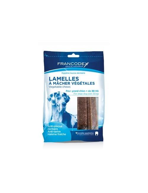 Francodex Weggy žvýkací plátky L pes 490g 15ks