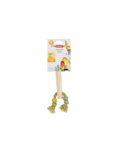 Bidlo pro ptáky dřevěné S 12cm Zolux