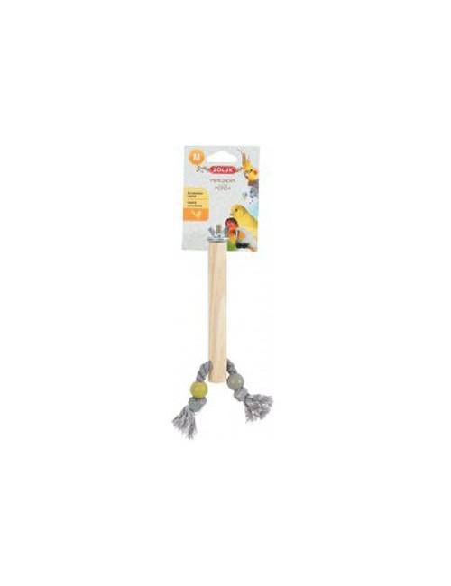 Bidlo pro ptáky dřevěné M 17cm Zolux