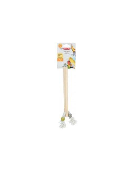 Bidlo pro ptáky dřevěné L 23,5cm Zolux