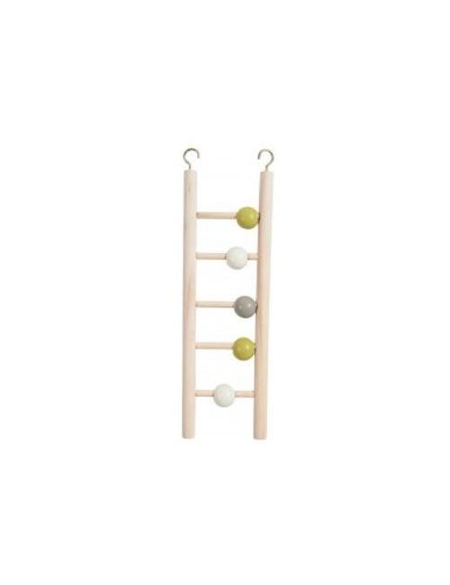 Žebřík pro ptáky dřevěný 5 příček 23,5cm Zolux