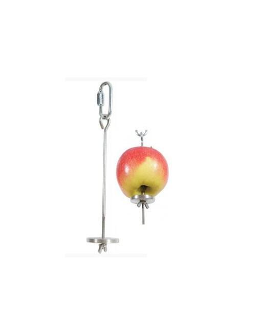 Držák na ovoce do klece kovový L 22cm Zolux