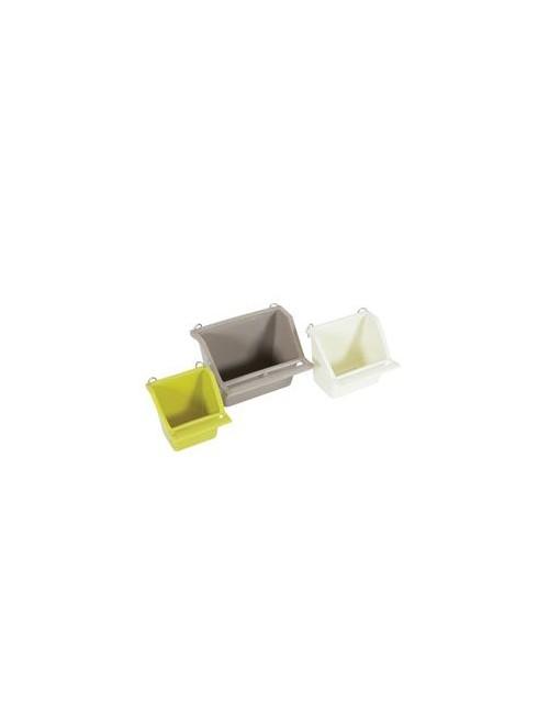 Krmítko pro ptáky do klece ARABESQUE plast S Zolux