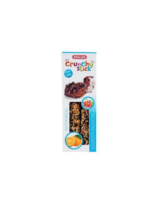 Pochoutka CRUNCHY STICK rybíz/pomeranč pro morče Zolux