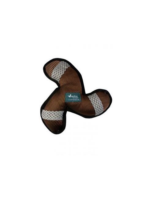 Papillon hračka tvrdá Trojkřídlo bumerang  textil 27cm